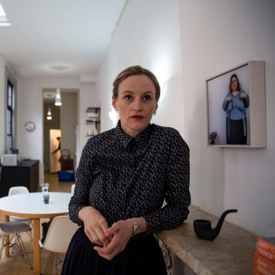Kaarina Gould leder det finska kulturinstitutet i New York, FCINY