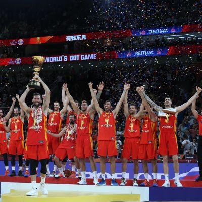 Espanja jyräsi tiensä koripallon MM-kultaan