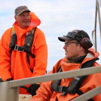 Tom Johansson oppi kalastajaksi Lokan vesillä