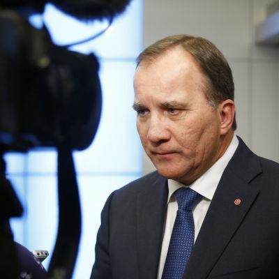 Stefan Löfven, oktober 2016.
