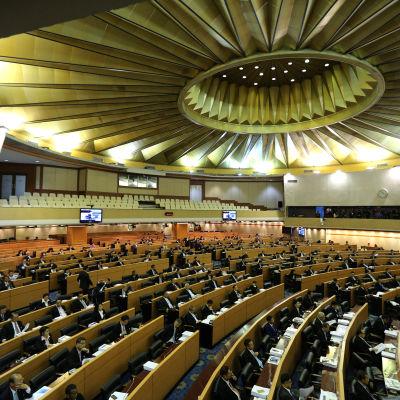 Nationella reformrådet i Thailand 6 september 2015.