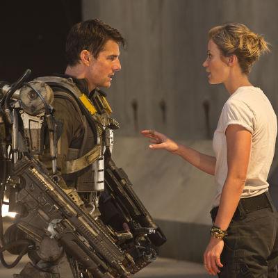 Tom Cruise krigar i Edge Of Tomorrow