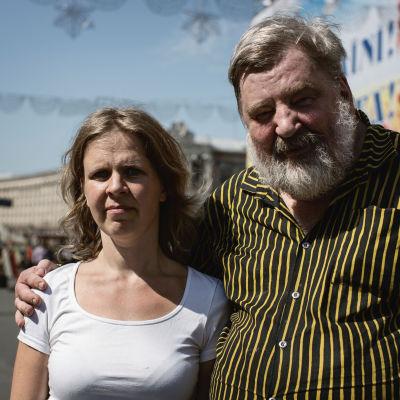 Anna-Lena Laurén och Peter Lodenius