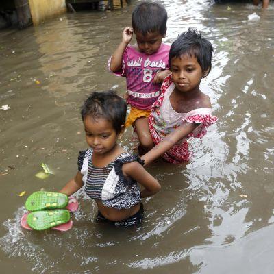 Naturkatastrofer ökar barnäktenskapen.