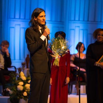 Jonas Hassen Khemiri tilldelas Augustpriset.
