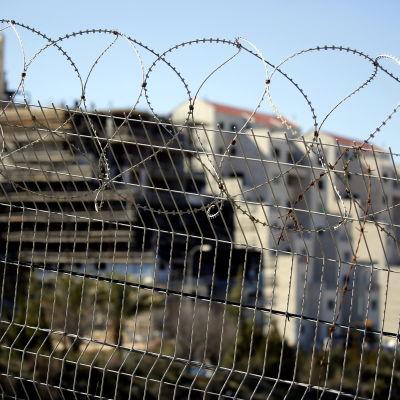 Israelisk bosättning på Västbanken.