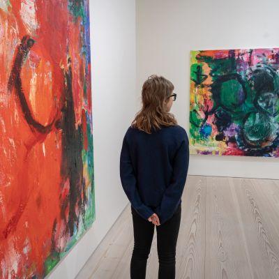 viestintäkoordinaattori Nina Suni  , Gallerie Forsblom