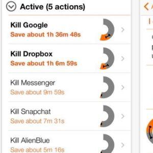 Appen Normal hjälper med att spara mobilens batteri.