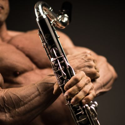 Arto Vainio, klarinetisti-kehonrakentaja