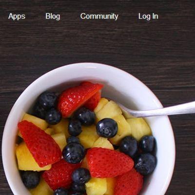 Mobilapplikationen My Fitness Pal räknar kalorier