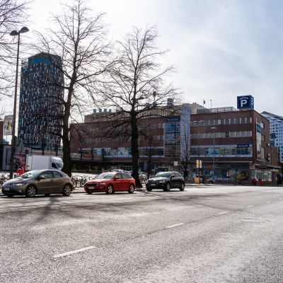 Tampereen rautatieaseman alue.