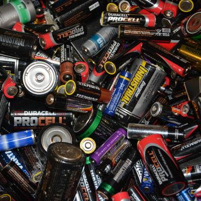 olika typer av batterier