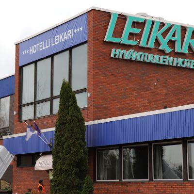 Hotel Leikari Kotkassa.