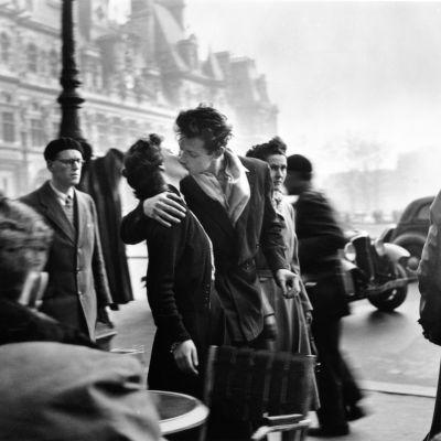 Le baiser de l'Hôtel de ville.