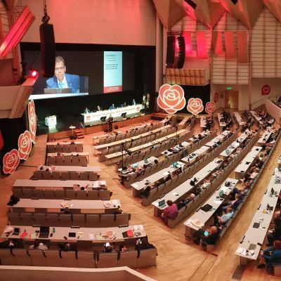 Suomen Sosialidemokraattisen Puolueen 46. puoluekokous Tampereella sunnuntaina 23. elokuuta 2020