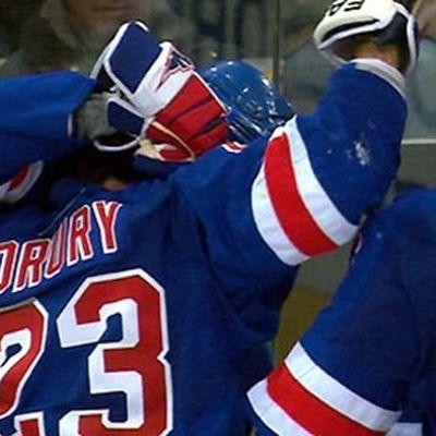 New York Rangers firar