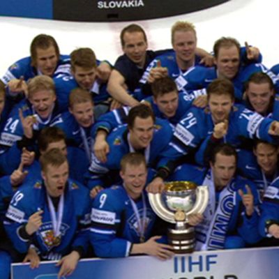 Finlands guldlejon årsmodell 2011.