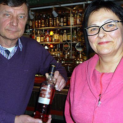 Jussi Rosenlund ja Mira Heikura