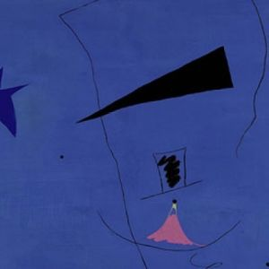Mirós verk Peinture (Étoile Bleue