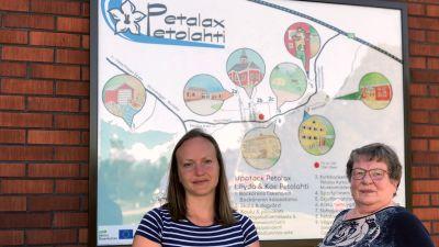 Gabriella Jokela och Kristina Vesterback