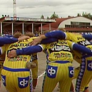 Alajärvi-Siilinjärvi pesäpallo-ottelu 1986.