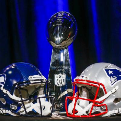 Seahawks och Patriots gör upp i Superbowl 49.