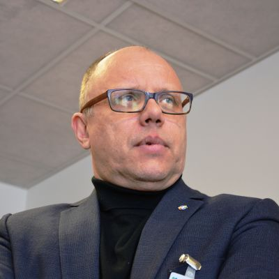 Markku Suoranta på Österbottens cancerförening.