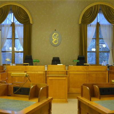 Sessionssalen vid Vasa hovrätt.
