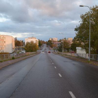 Esplanaden i Hangö.