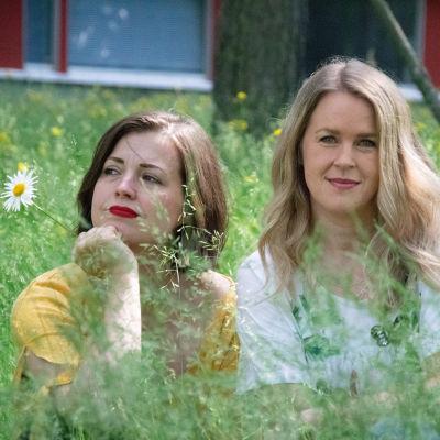 Eva Frantz och Hannah Norrena