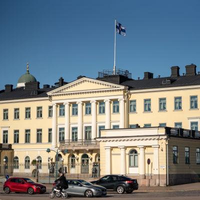 Presidentslottet i Helsingfors.