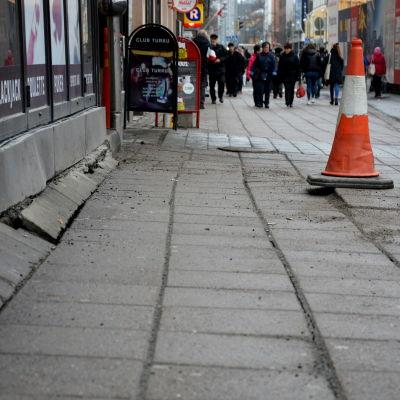 Eriksgatan i Åbo.