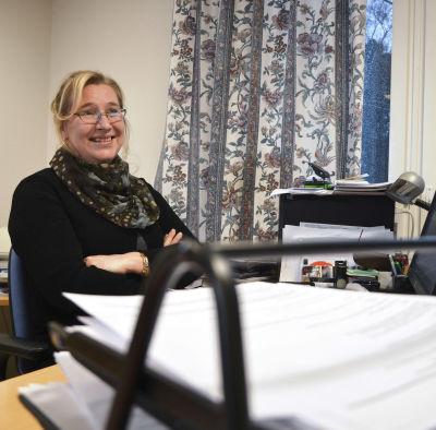 Korsnäs kommundirektör Christina Båssar.