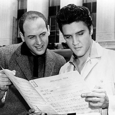 Mike Stoller, Elvis Presley, Jerry Leiber