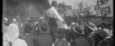 Ett foto från tidigt 1900-tal av Valter Forsblom