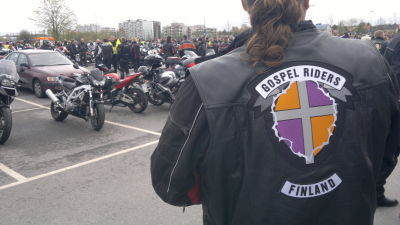 Gospel Riders är en av arrangörerna för motoristkyrkan i Lundo