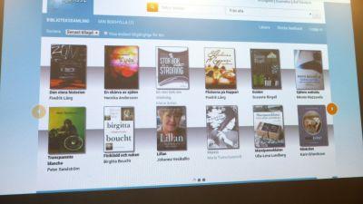 Biblioteken i Borgå, Sibbo, Borgnäs och Askola har 300 e-böcker för utlåning