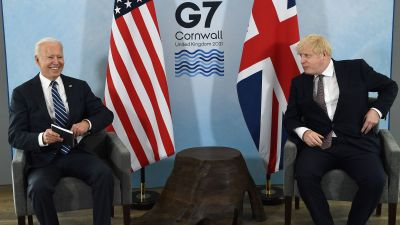 Joe Biden och Boris Johnson träffas före G7-mötet i Carbis Bay