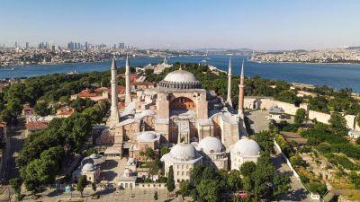 Hagia Sophia i Istanbul