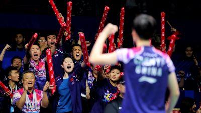 Kina är regerande mästare i Sudirman Cup i badminton.