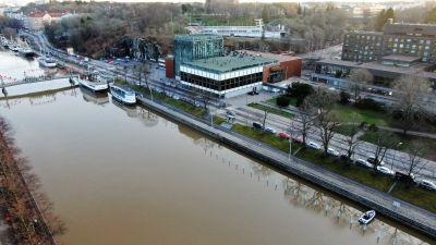 Uuden konserttitalon suunniteltu sijaintipaikka