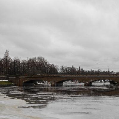Långa bron i Hagnäs.