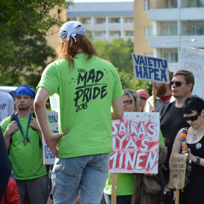 Mad Pride i Åbo 2018.