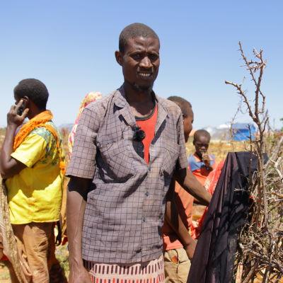 Mohamed Ali on ollut maanviljelijä koko elämänsä, mutta nyt hänellä on vain pieni kasvimaa.