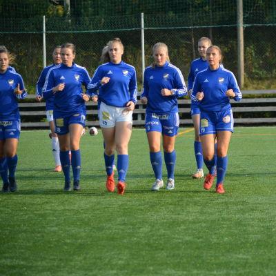 Vasa IFK-spelare springer på rad