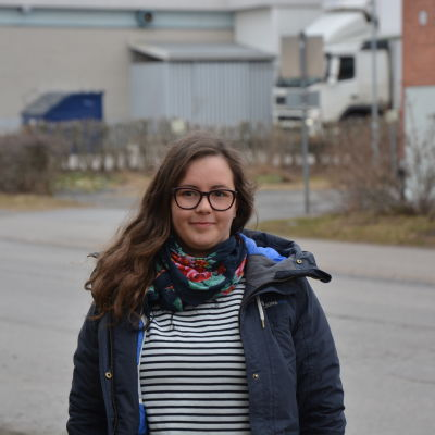 Projektledare Sofia Grynngärds från Marthorna.