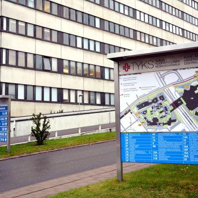 Åbo universitetscentralsjukhus.