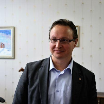 Raahen kaupunginjohtaja Ari Nurkkala.