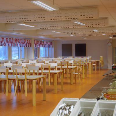 Matsalen i Kvevlax lärcenter