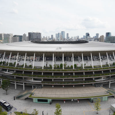 Tokion olympiakisojen ja paralympialaiseten päänäyttämö näyttää tältä.